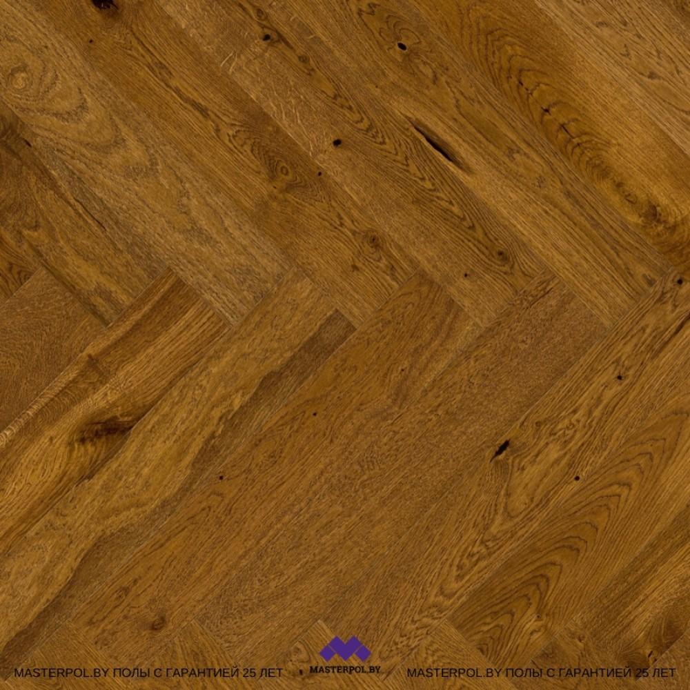 Паркетная доска Barlinek дуб Brown Sugar Herringbone 1WJ000004